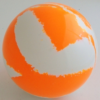 WHITE-orange fluorescent