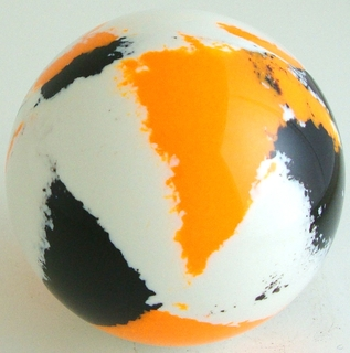 White-Orange fluo, black