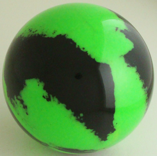 Fluorescent green-black