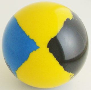 Chrome yellow - blue Italian, black