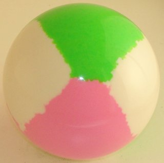 WHITE-PINK FLUO - GREEN FLUO