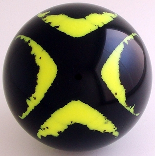 BLACK-yellow fluorescent