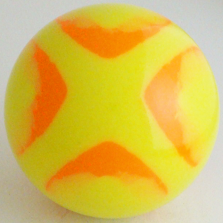 Yellow fluo orange fluo-
