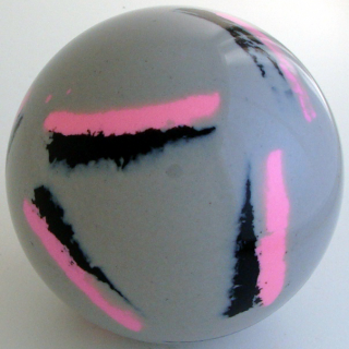 GREY SILVER - black, fluorescent pink