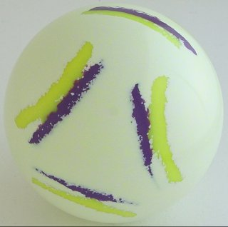 SPIDER YELLOW FLUO - purple neon, fluorescent yellow