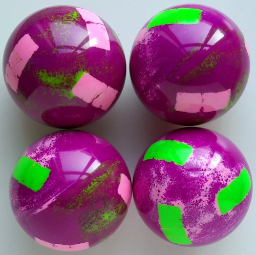 fluo purple gradient -fluoreed pink inserts/green fluo