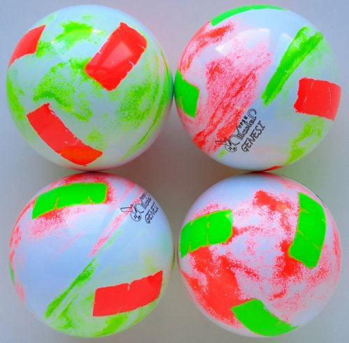 ultra shaded white / fluo red-fluo green red